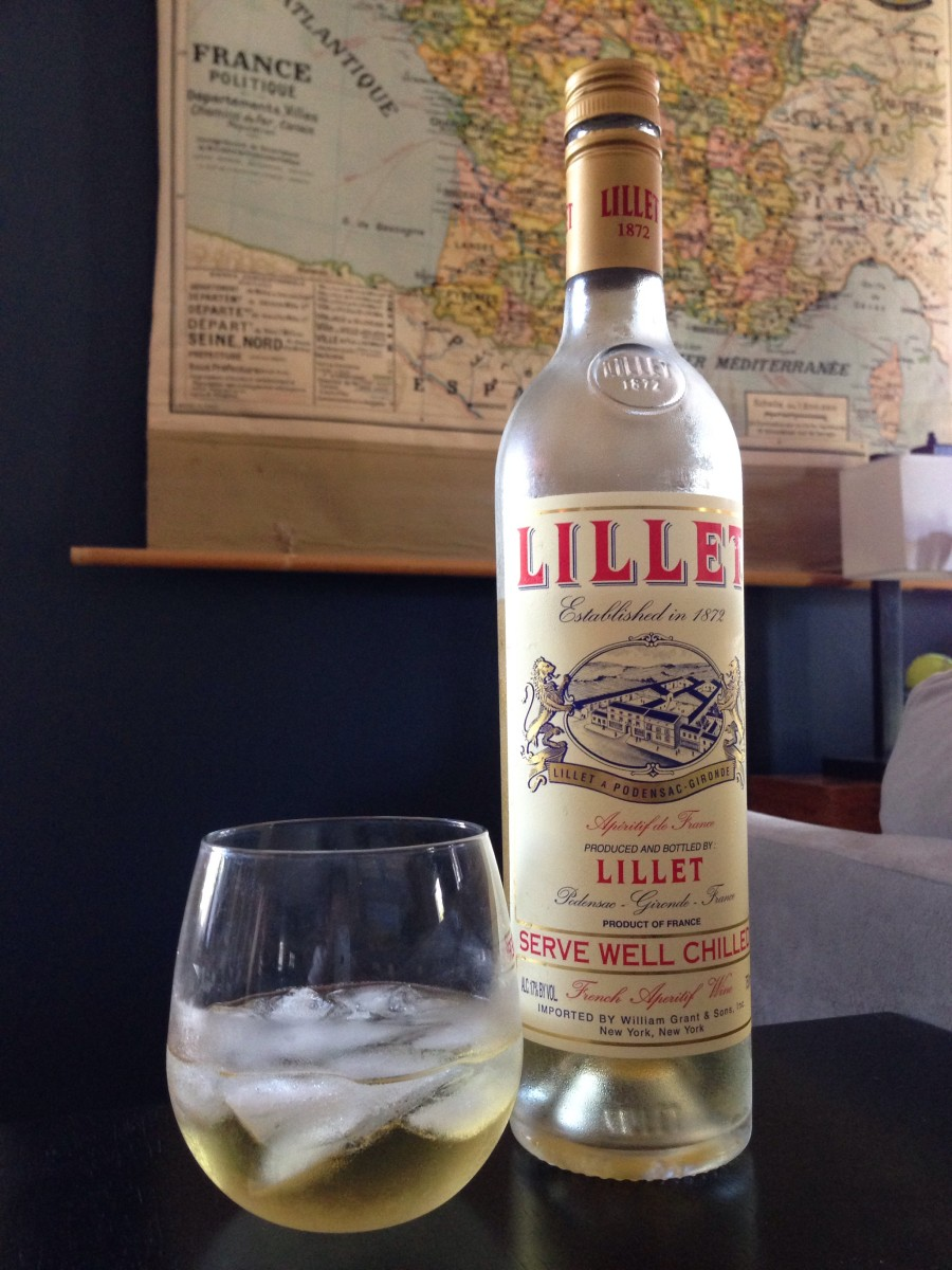Lillet on ice