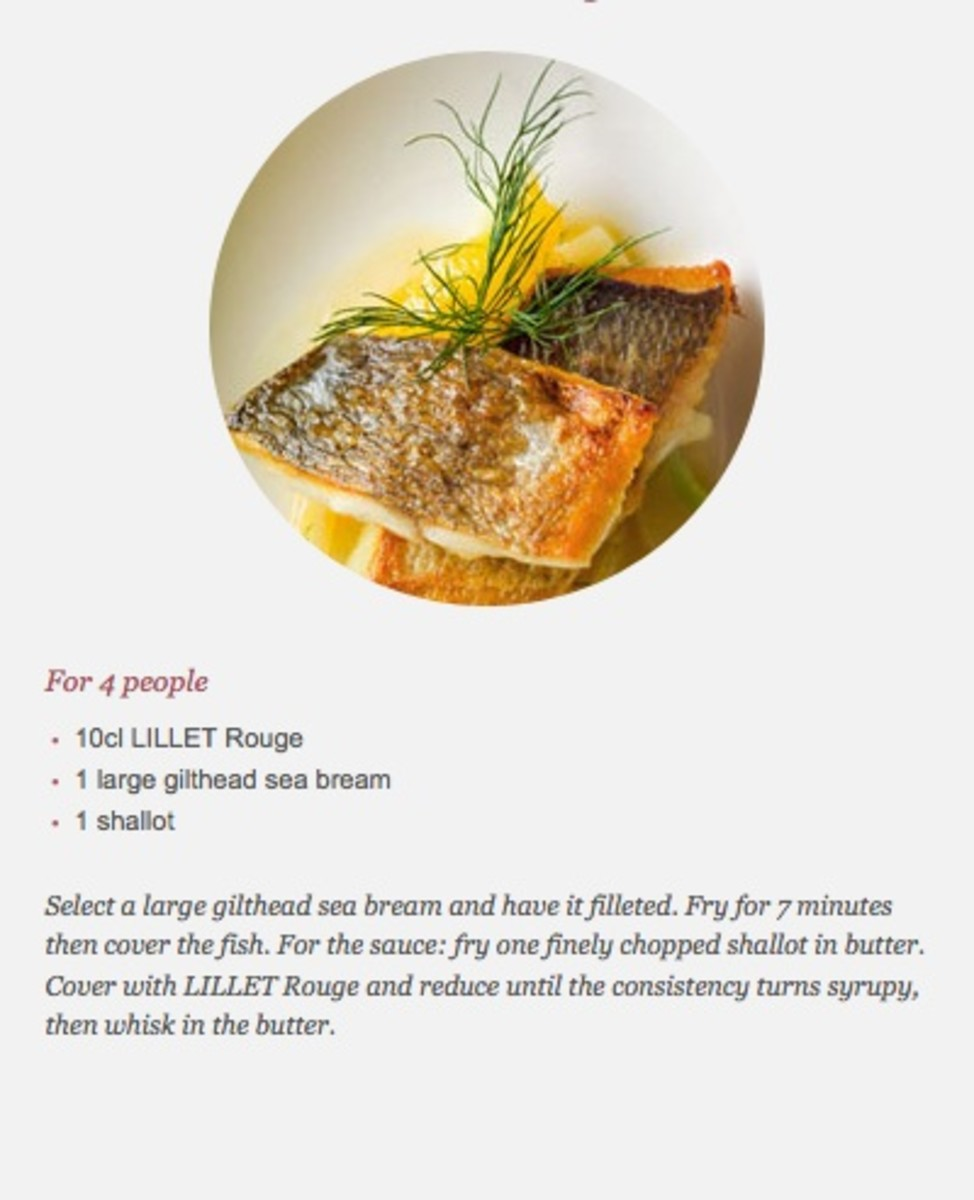 Lillet and fish
