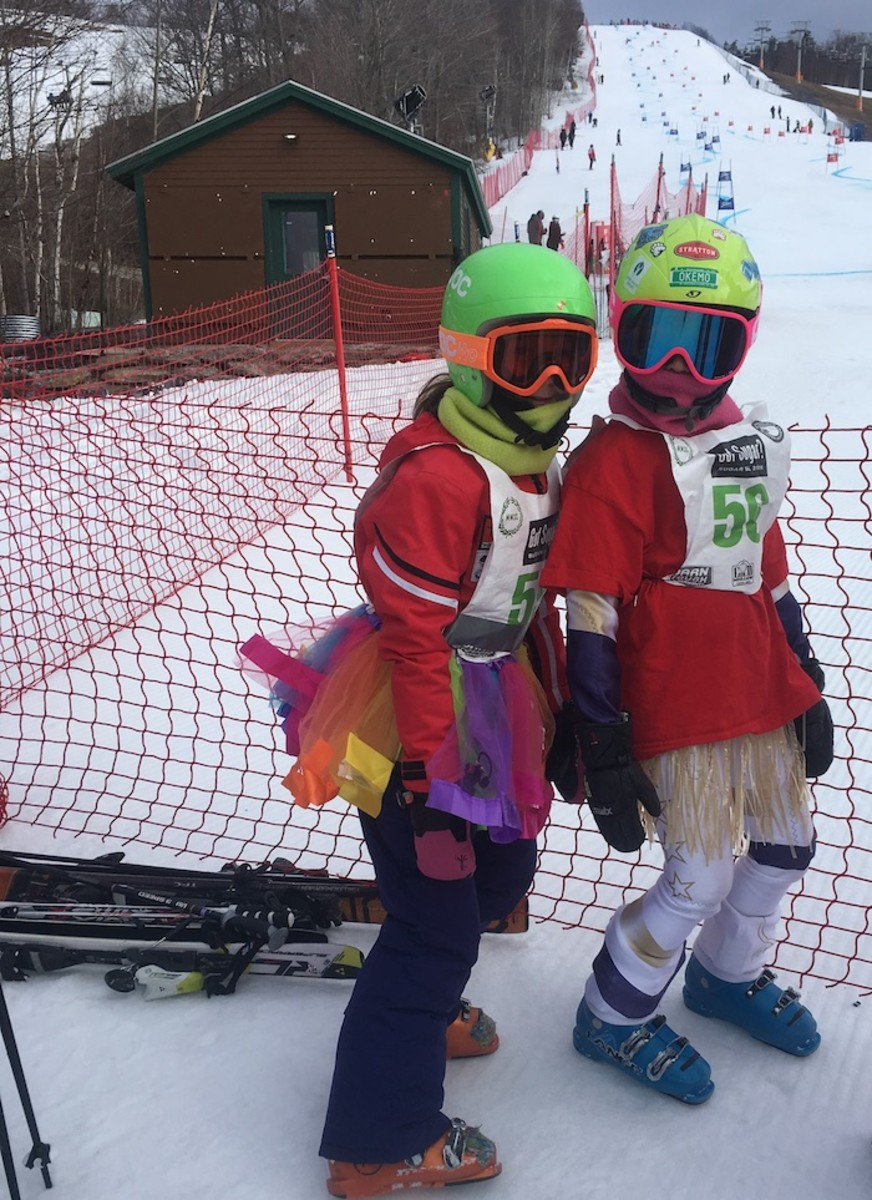 Mini Ski Racers
