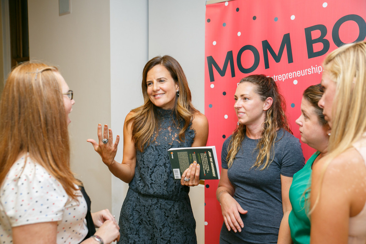 mom boss new york city book launch