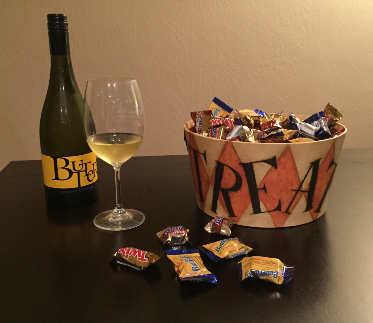 Wine and Candy