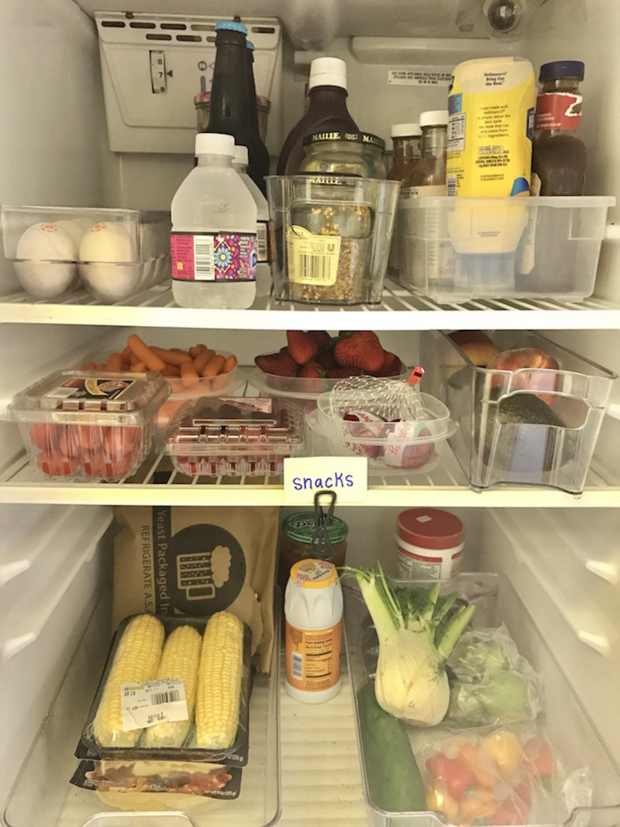 clean-kitchen-refrigerator-easy-diy-healthy-snacks