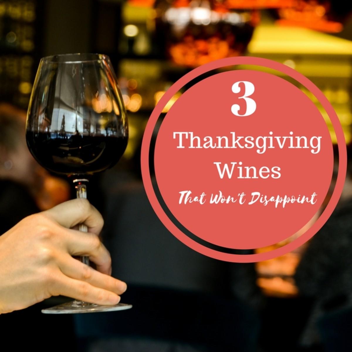 Saturday Sip - Thanksgiving Wines