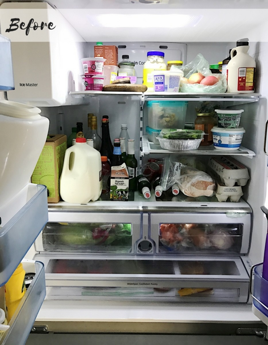 clean your fridge before