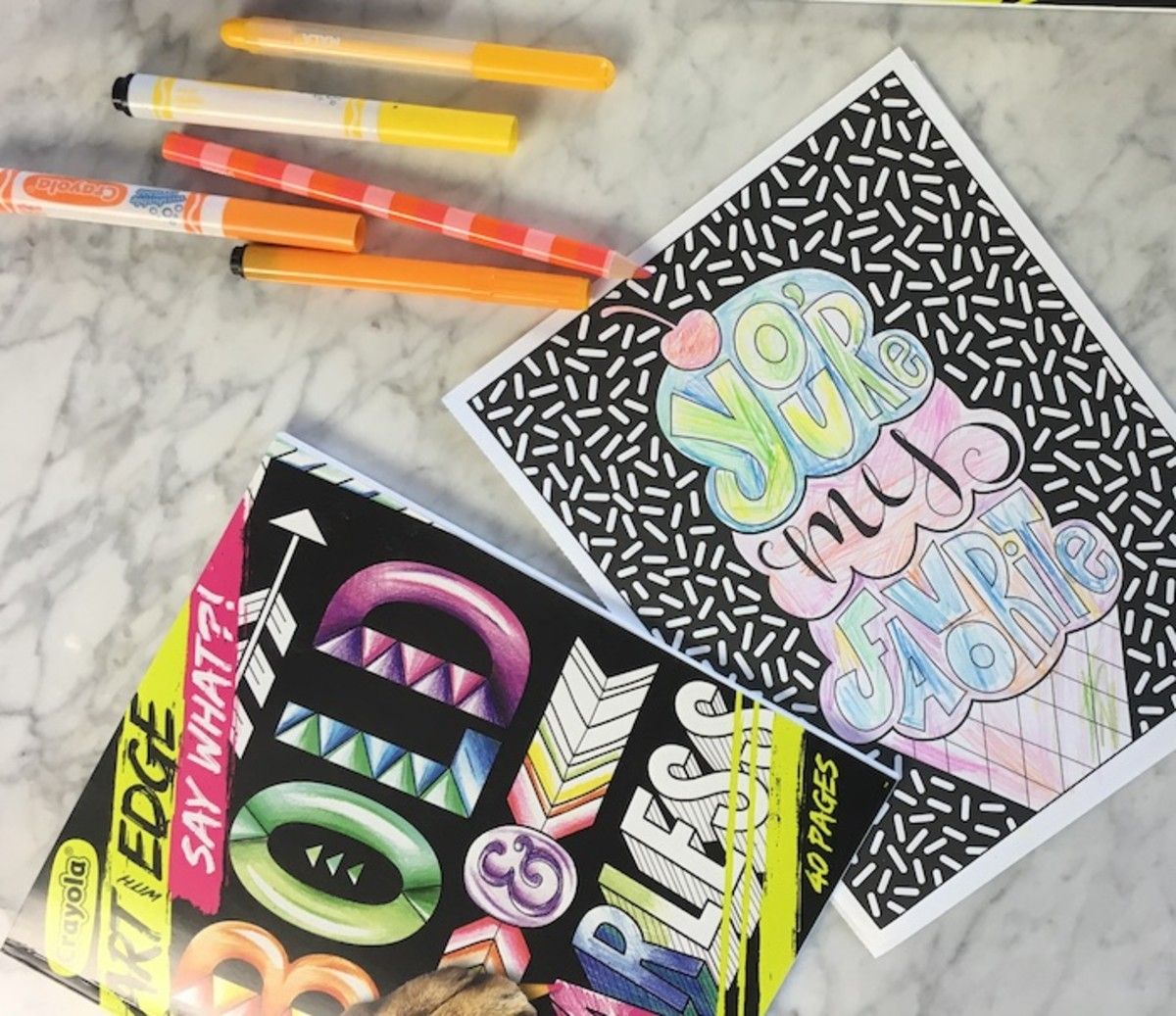 Coloring Books For Tweens Archives