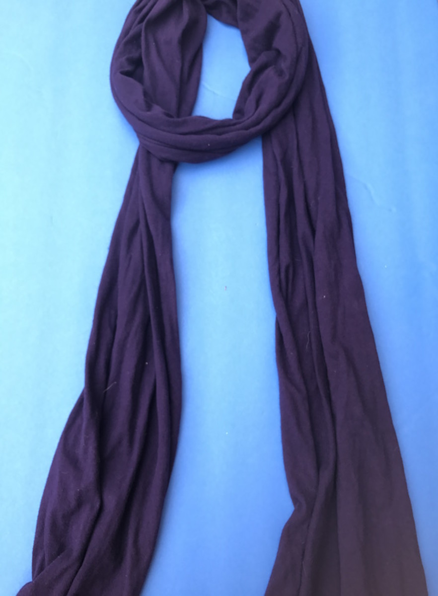 t-shirt-scarf-american-apparel-winter-fall