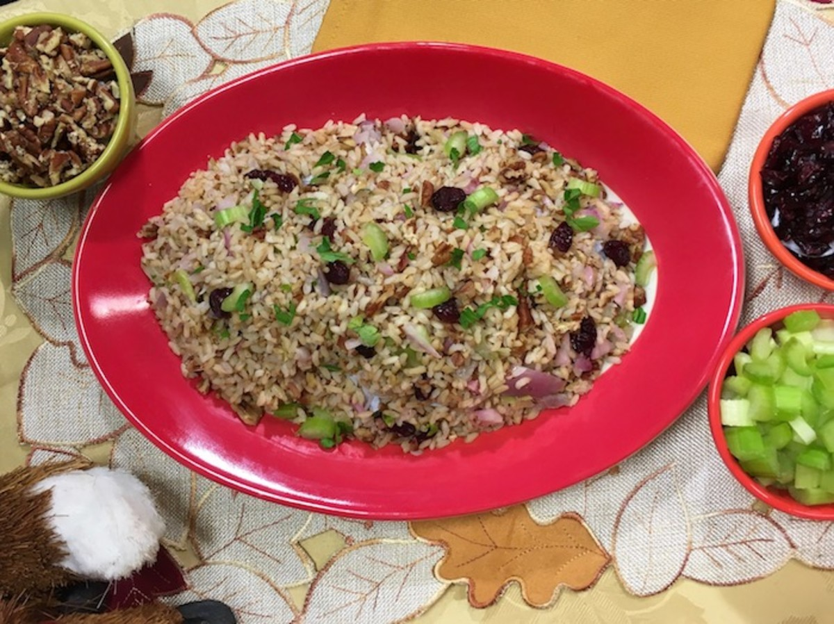 Cranberry Rice Pilaf Recipe