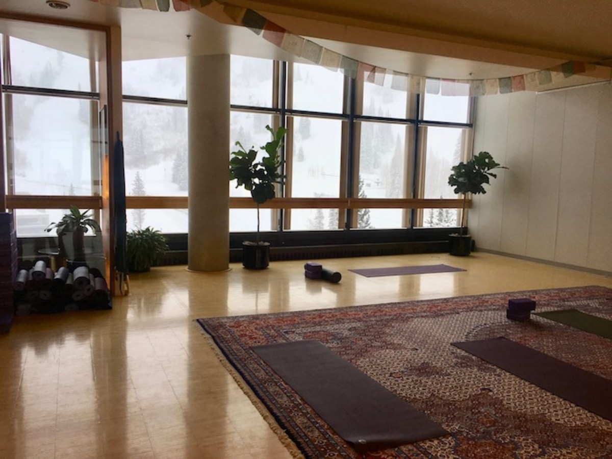 Cliff Lodge Yoga Studio