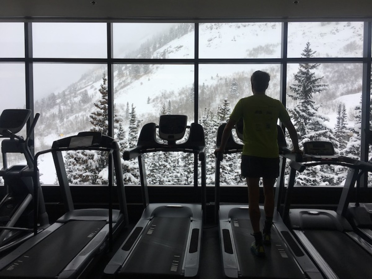 treadmill at snowbird