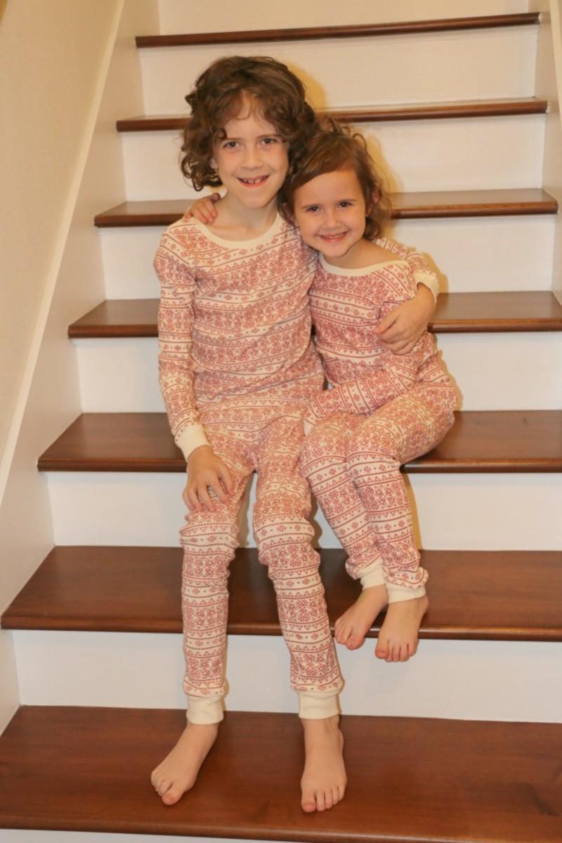 matching sibling pajamas