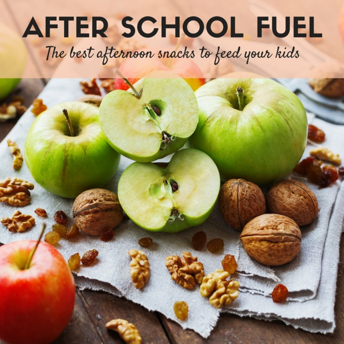 After School Fuel - Best Snacks for Kids