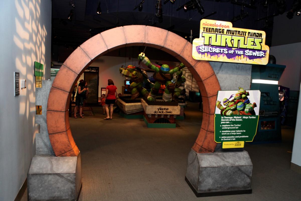 teenage mutant ninja turtle sewer