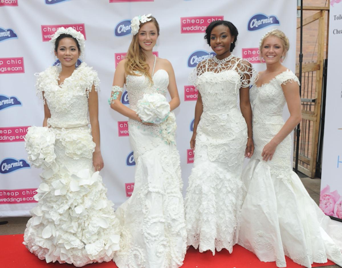 toilet paper dress finalists