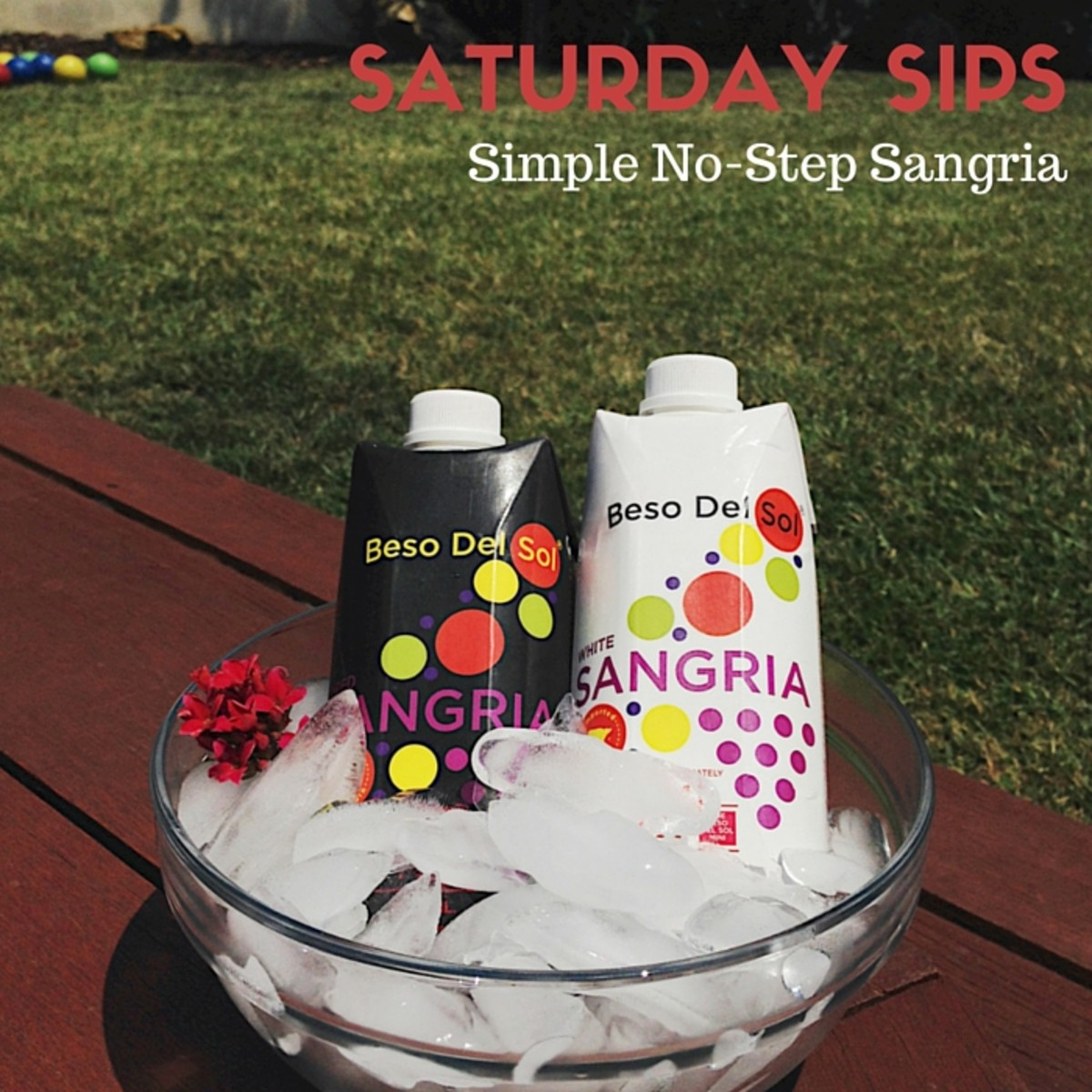 SATURDAY SIPS: Simple Sangria