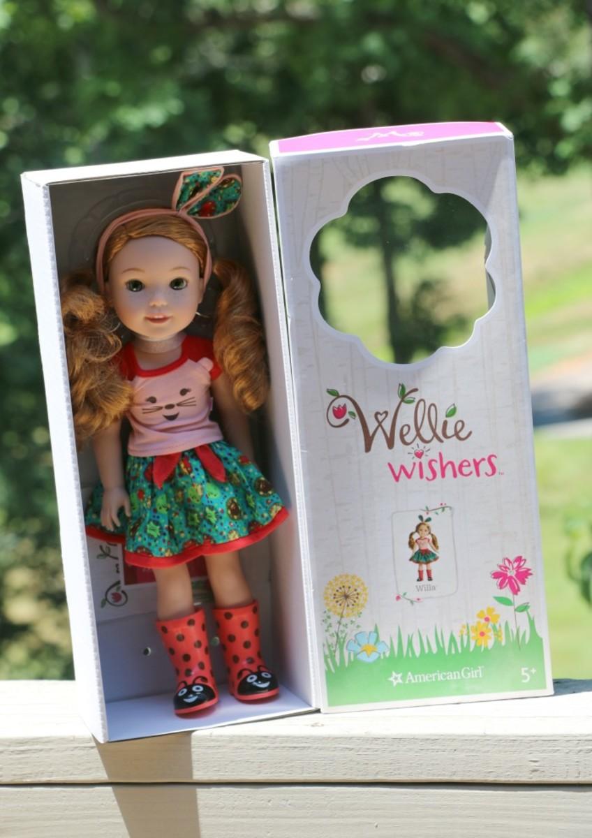 wellie wishers doll