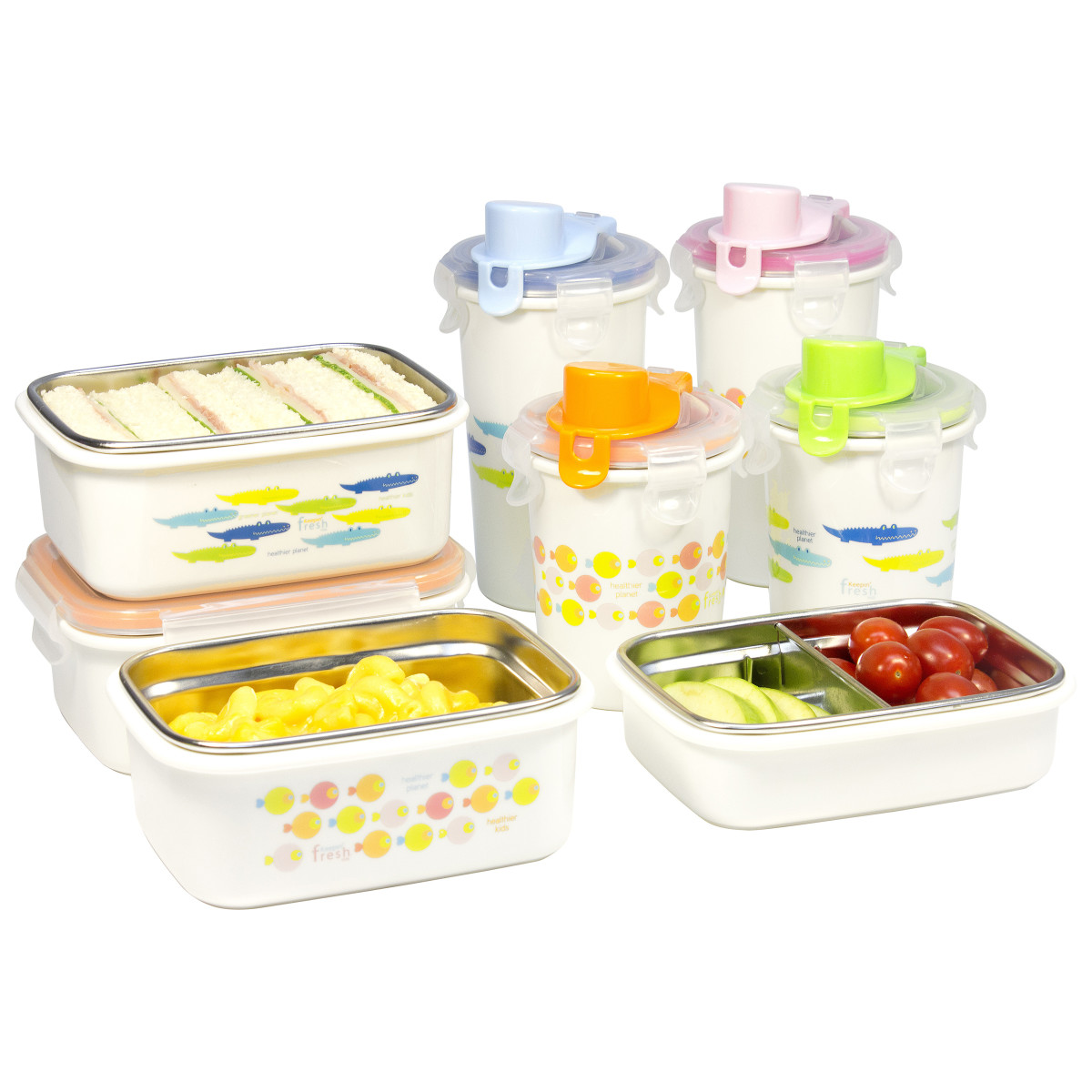 Keepin' Fresh Stainless Bento Collection by Innobaby