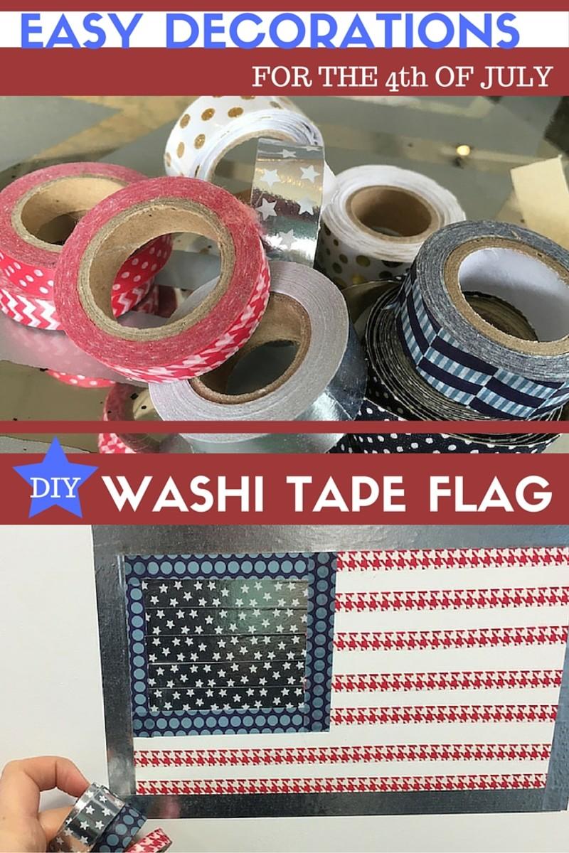WASHI TAPE FLAG