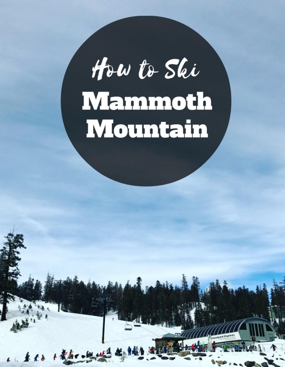 how to ski mammoth mountain