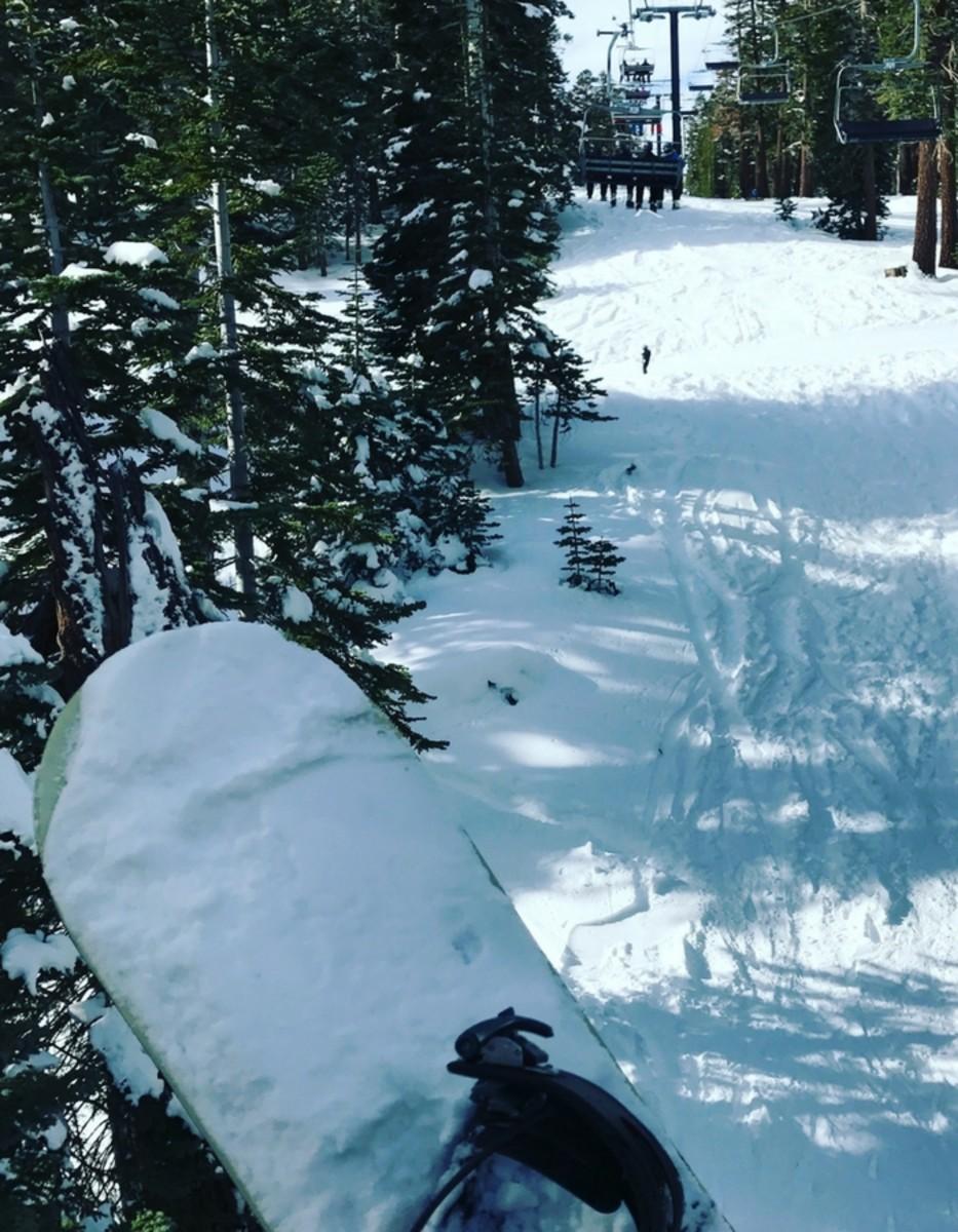 snowboard runs
