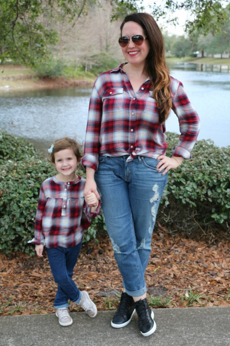 mommy and me hi tops outfits