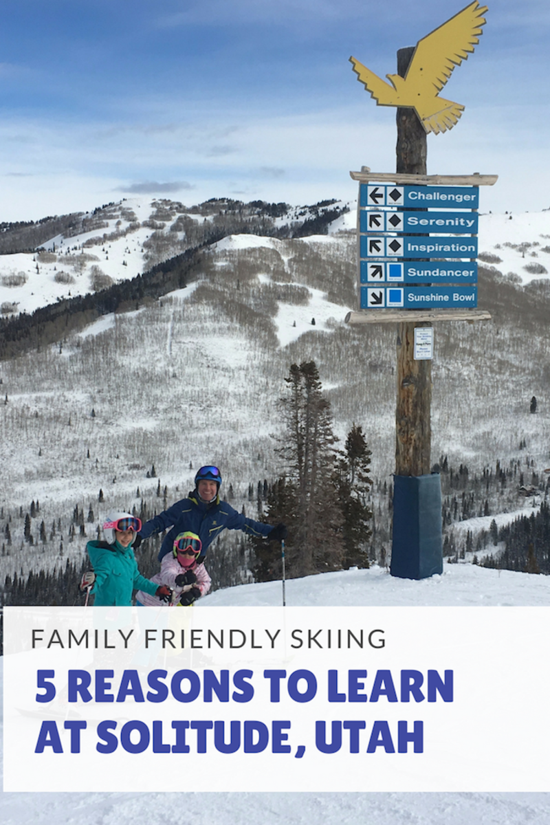 5 reasns to learn to ski at Solutide Mountain Utah