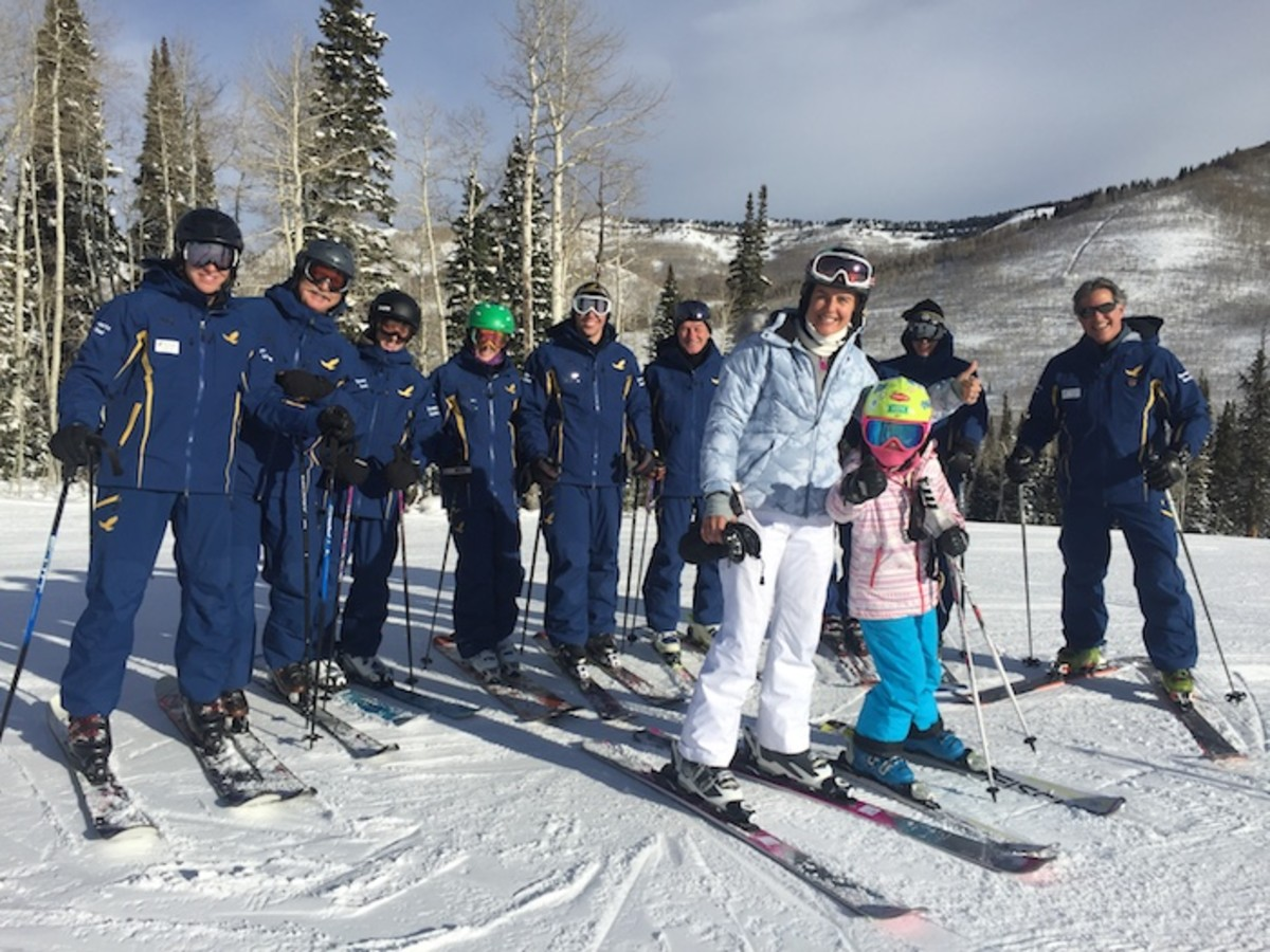 Learning to Ski at Solitude Mountain