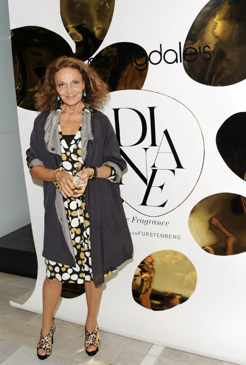 Diane von Furstenberg Celebrates Her Debut Fragrance at Bloomingdale's