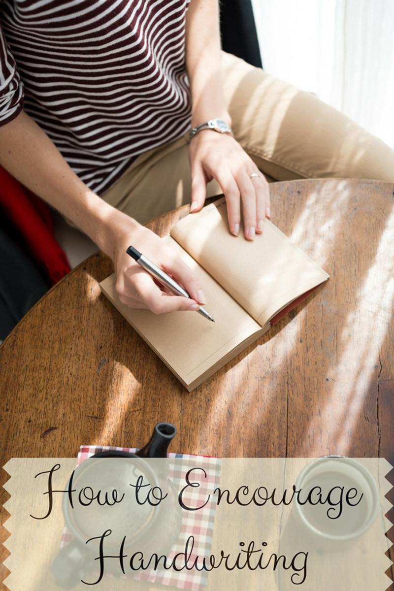 5 Ways to Encourage More Handwriting