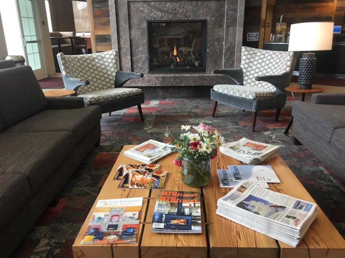 Residence Inn Lobby Breckenridge Colorado