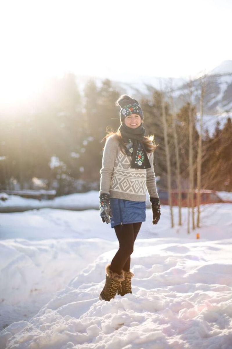 Style a Snow Skirt