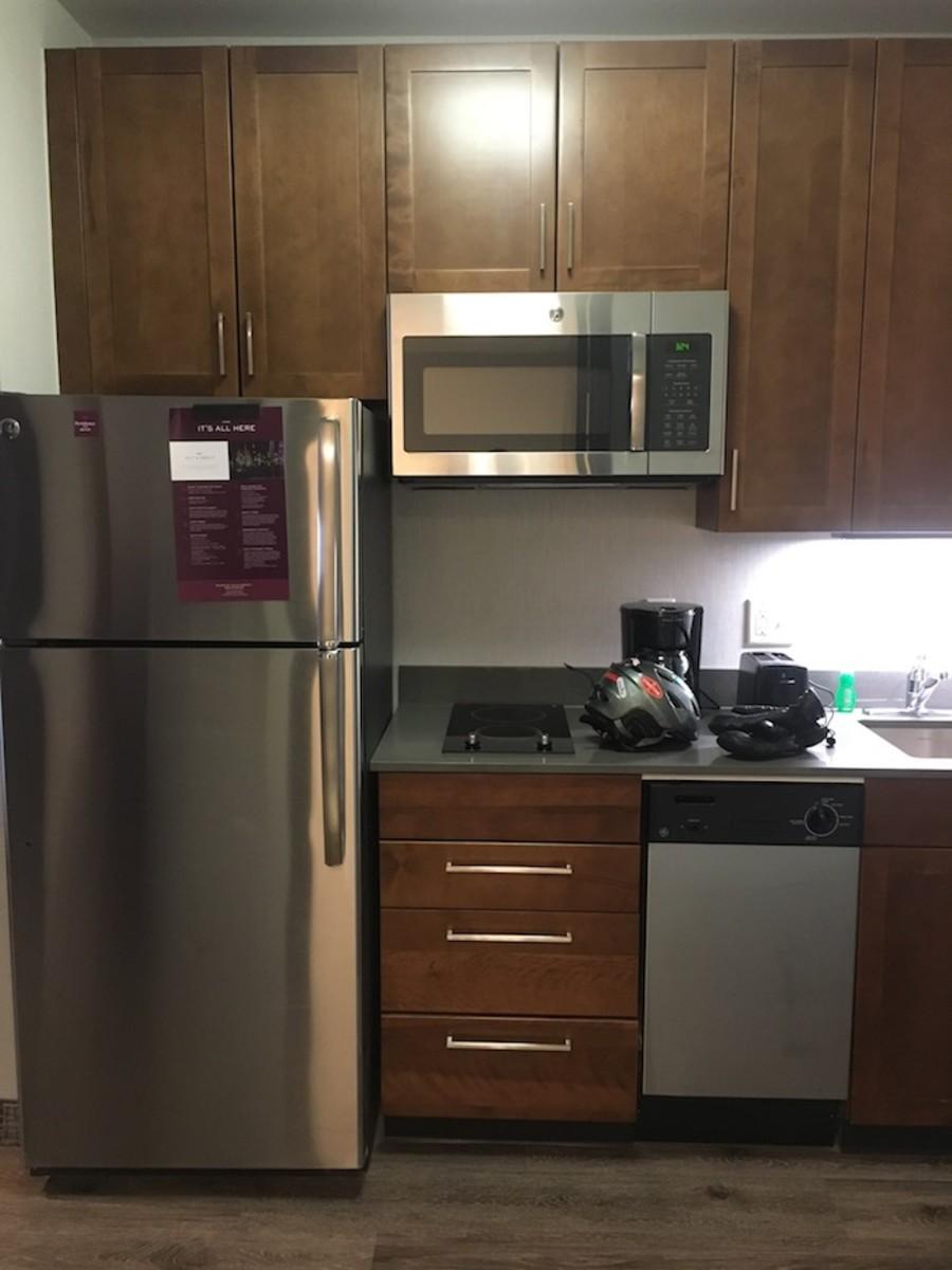 Small Kitchen Residence Inn Breckenridge, CO