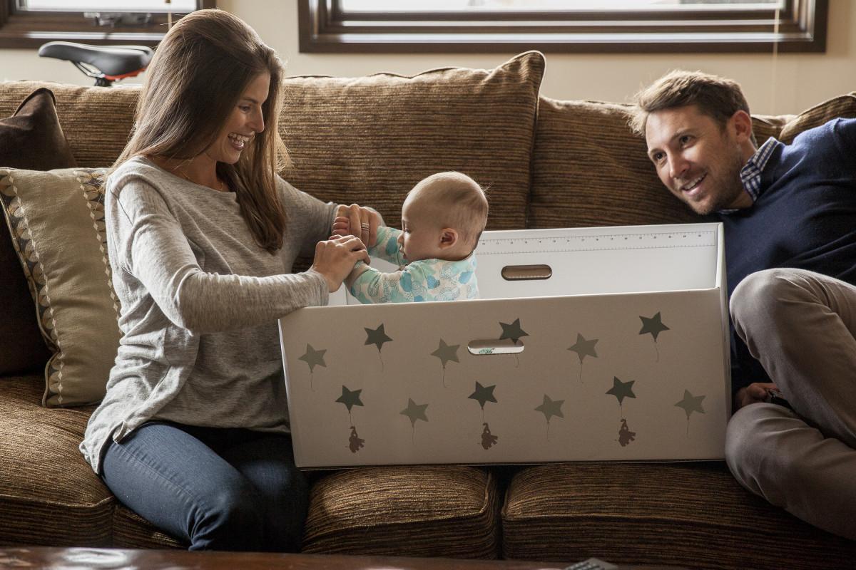 FinnBin baby box