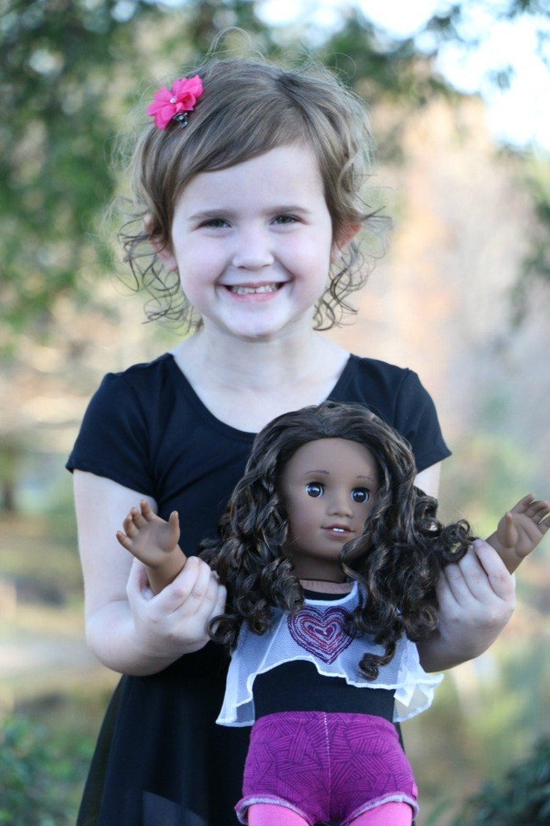 american girl doll style