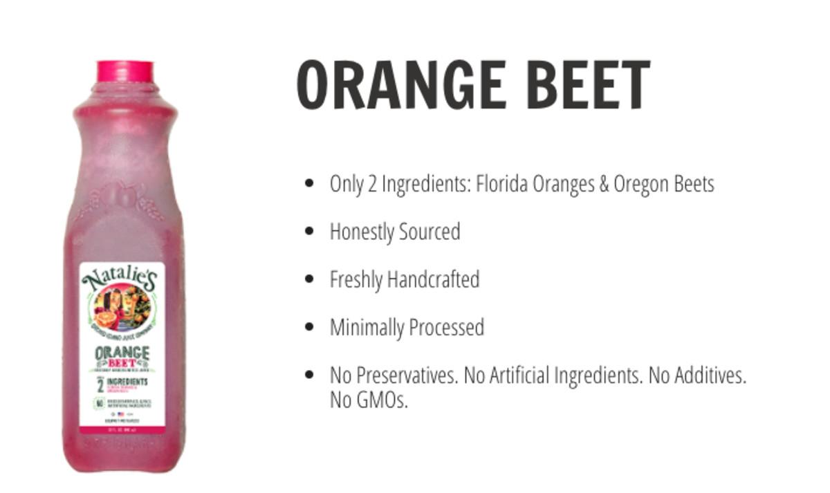 Natalie's Orange Beet Juice
