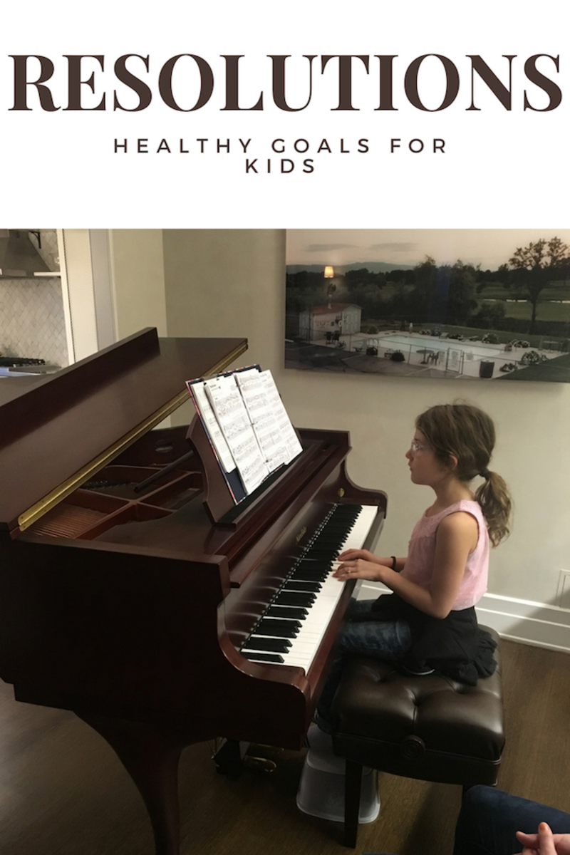 Healthy Resolutions for Kids