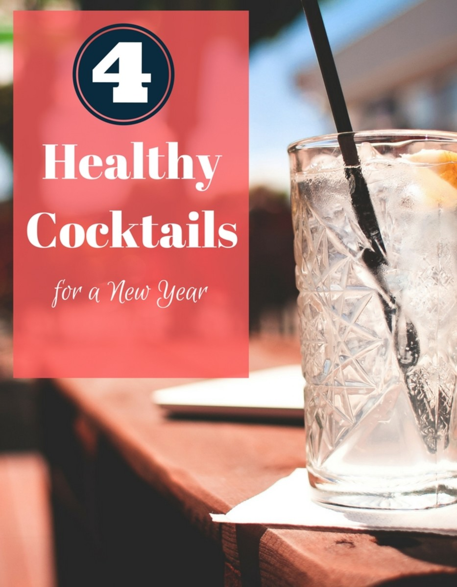 4 Healthy Cocktails for a New Year