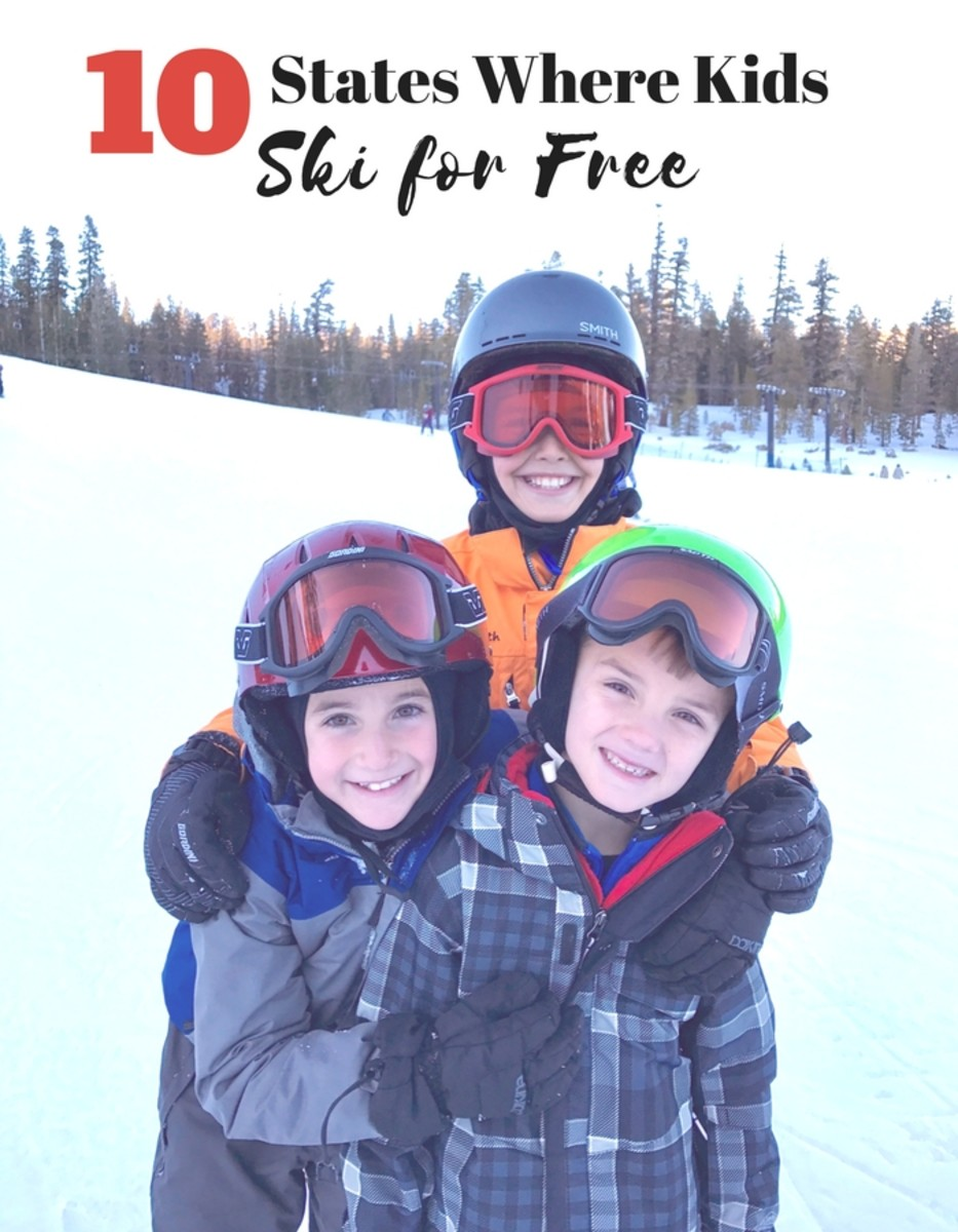10 States Where Kids Ski For Free