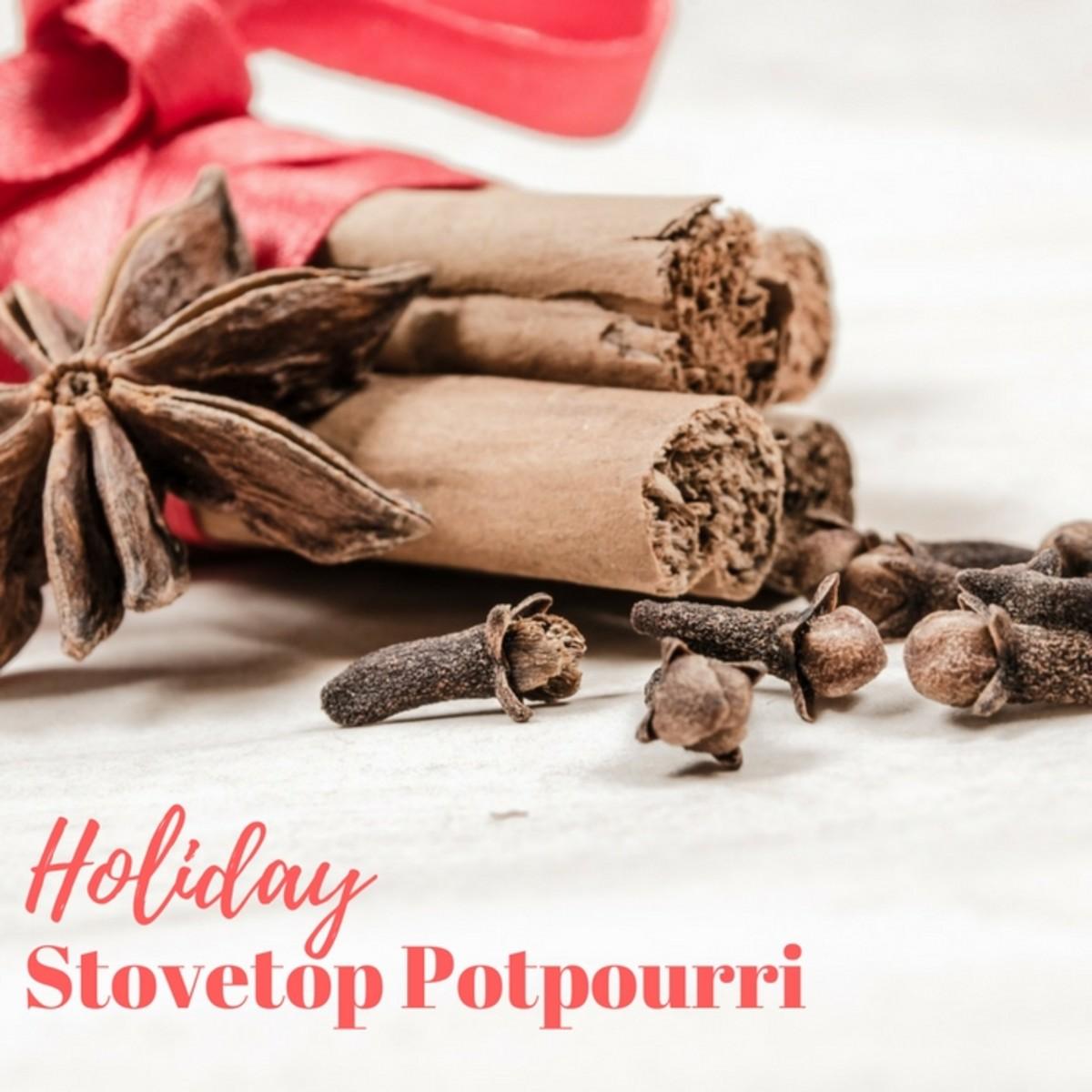 Holiday Stovetop Potpourri