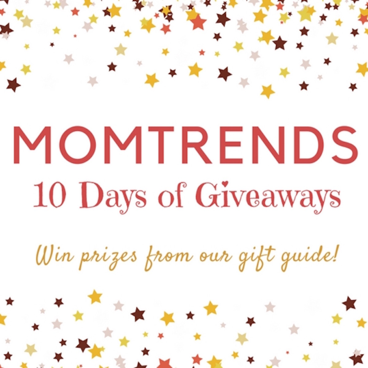 momtrends 10 days of give aways free contest