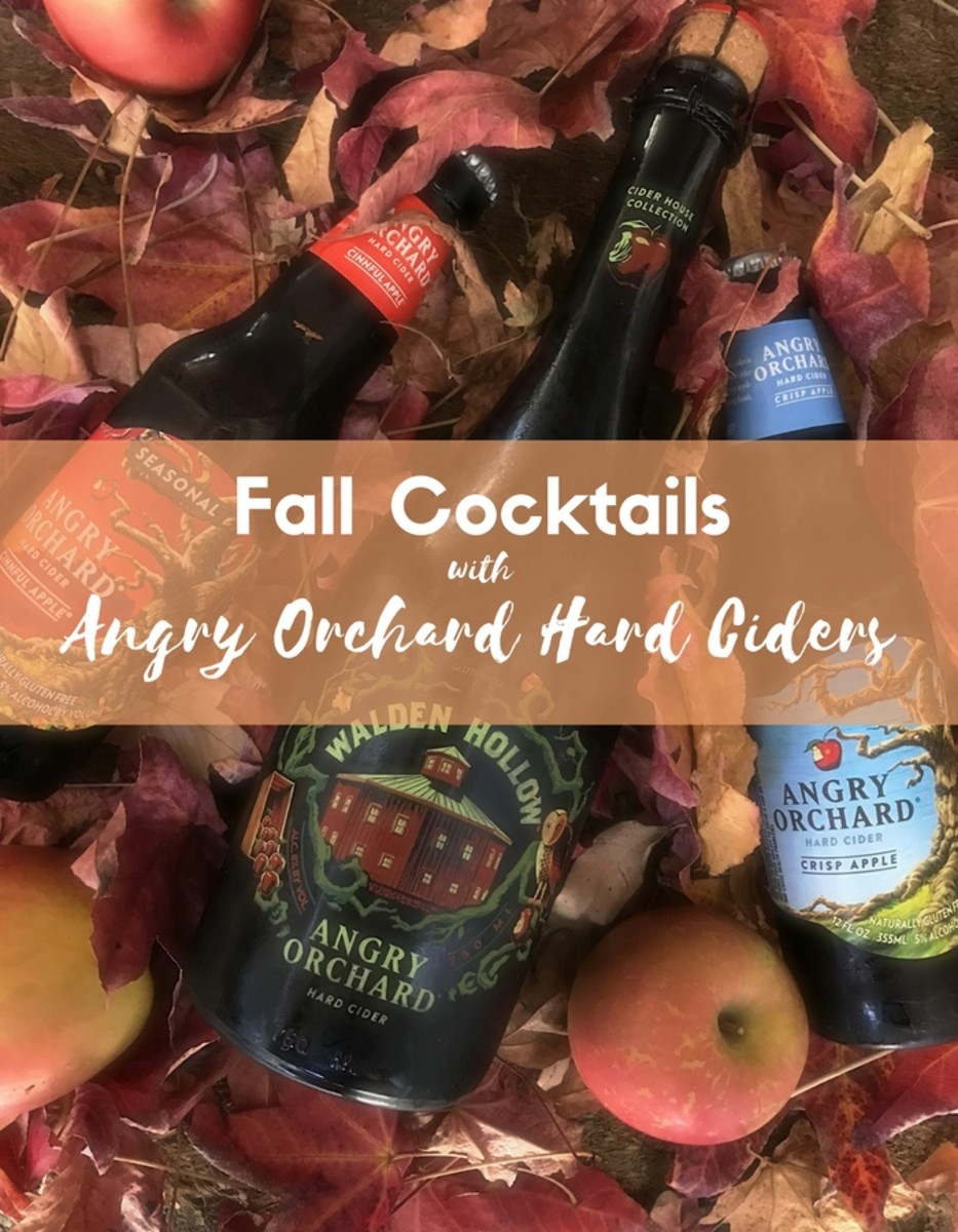 Fall Cocktails with Angry Orchard Hard Cider