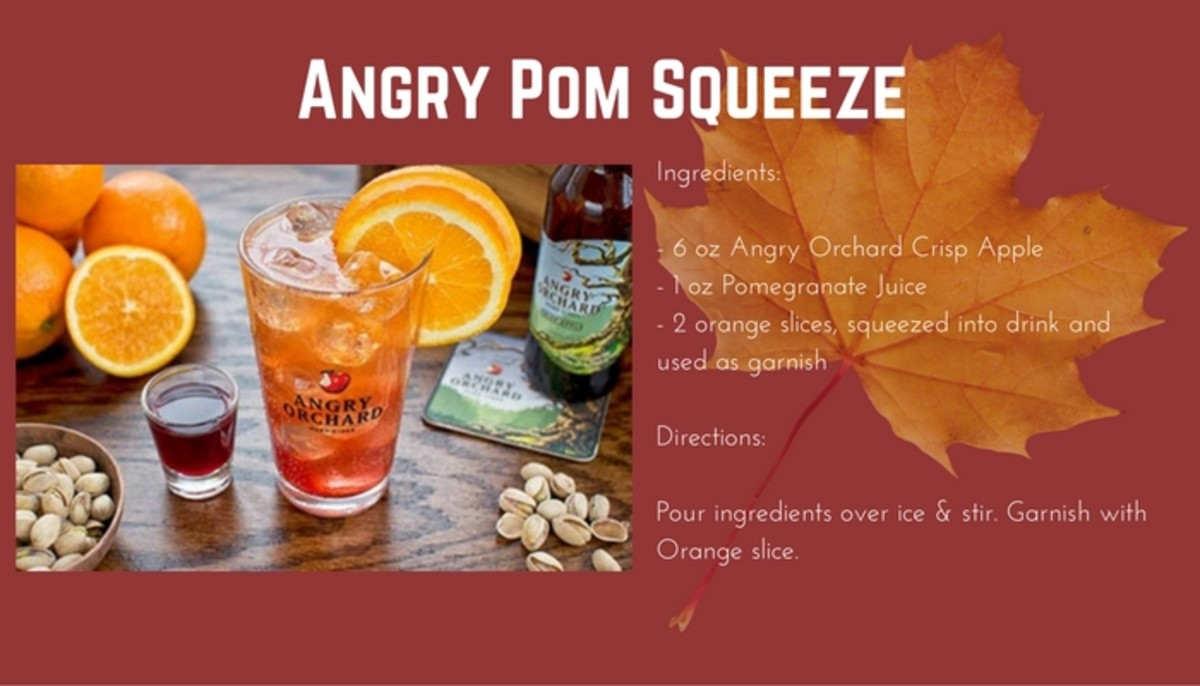Angry Pom Squeeze Hard Cider recipe