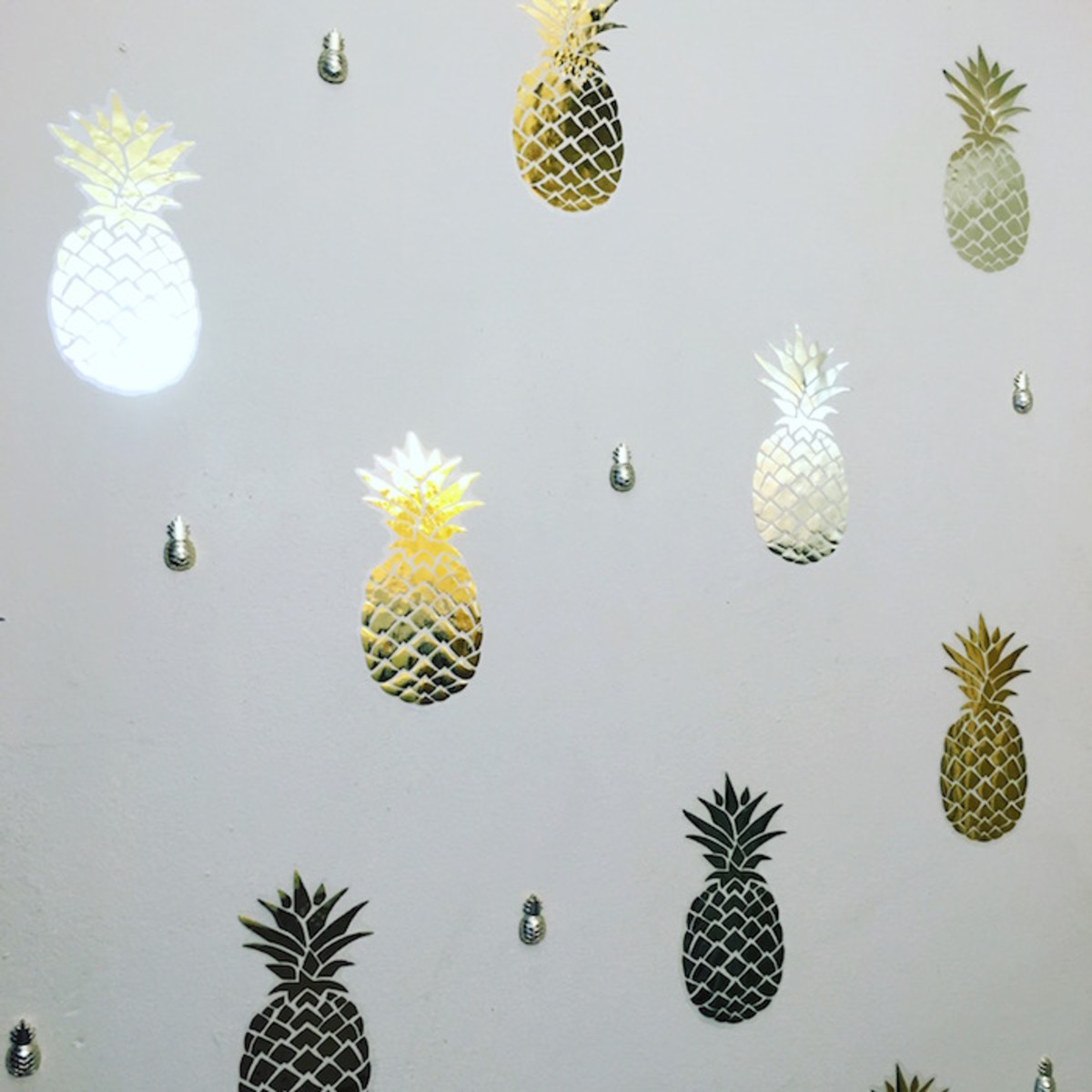 pineapple diy wall decals