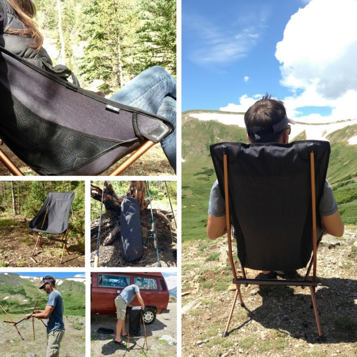 Kelty LInger HIgh back chair