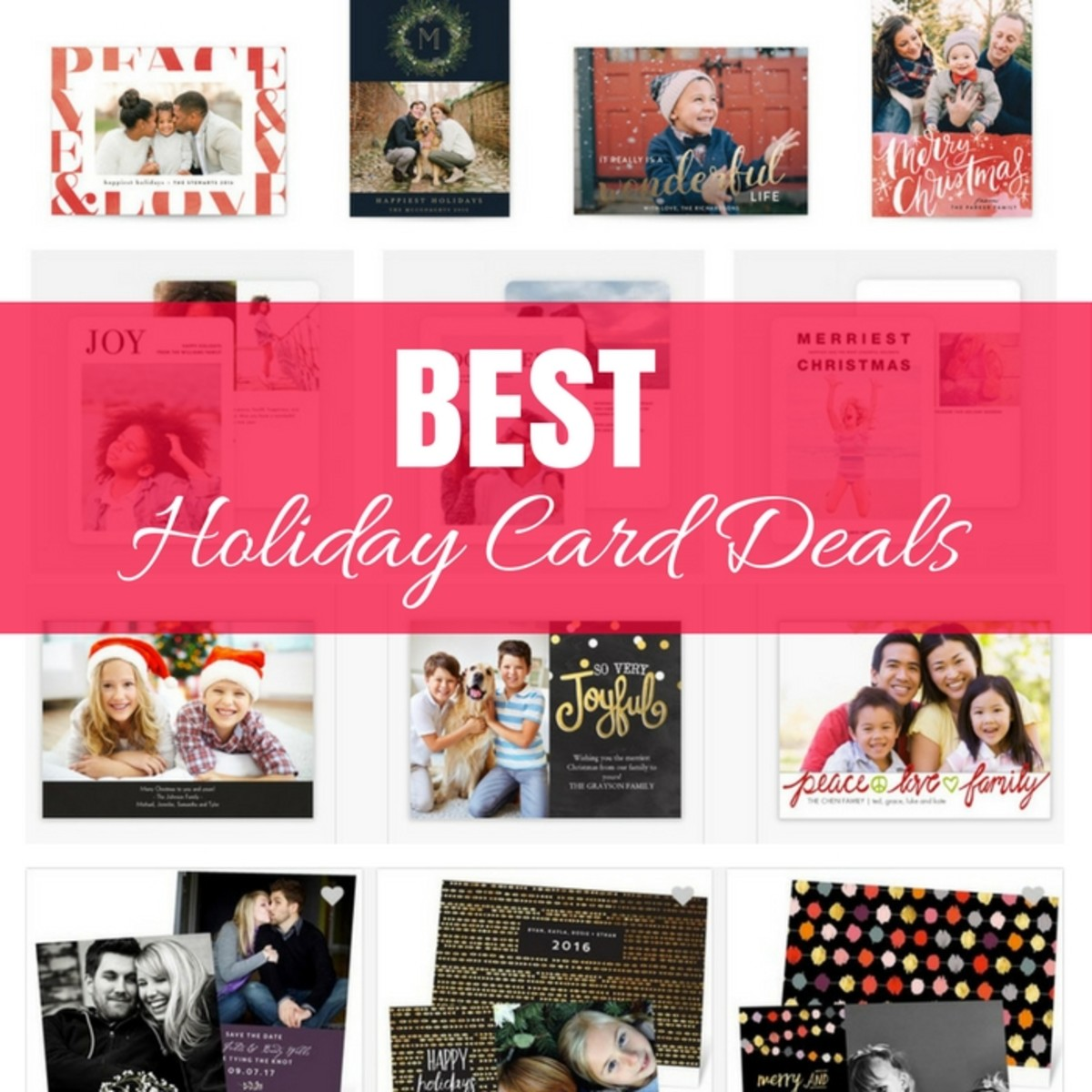Best Holiday Card Deals