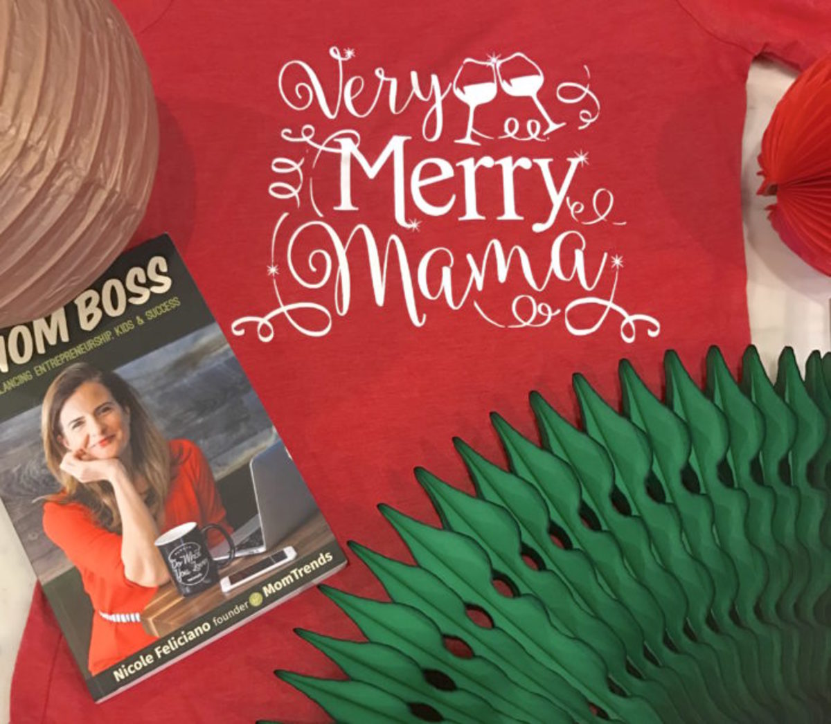 10 days of give aways free contest merry mama book t shirt