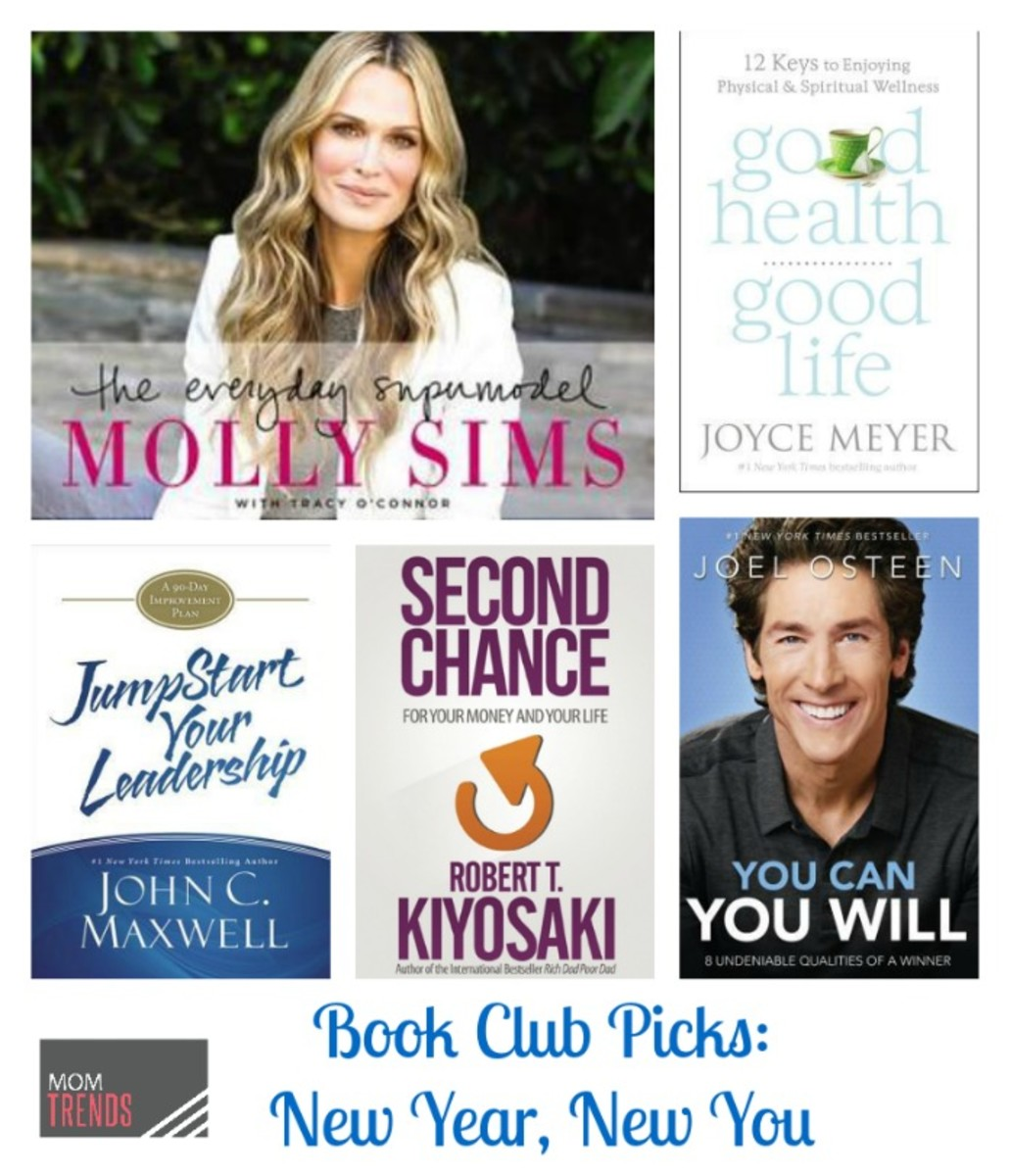 Book Club Picks: New Year, New You