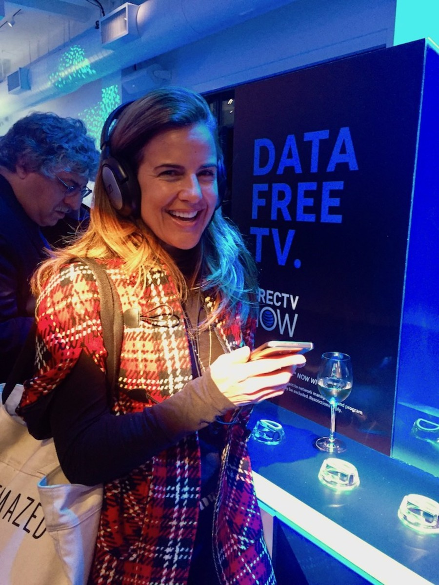 DIRECTV NOW launch party