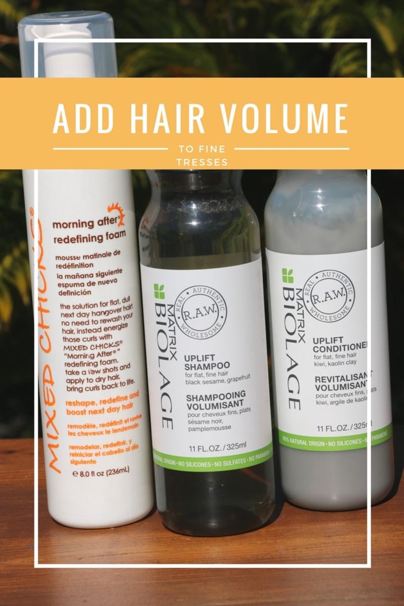 Add Hair Volume