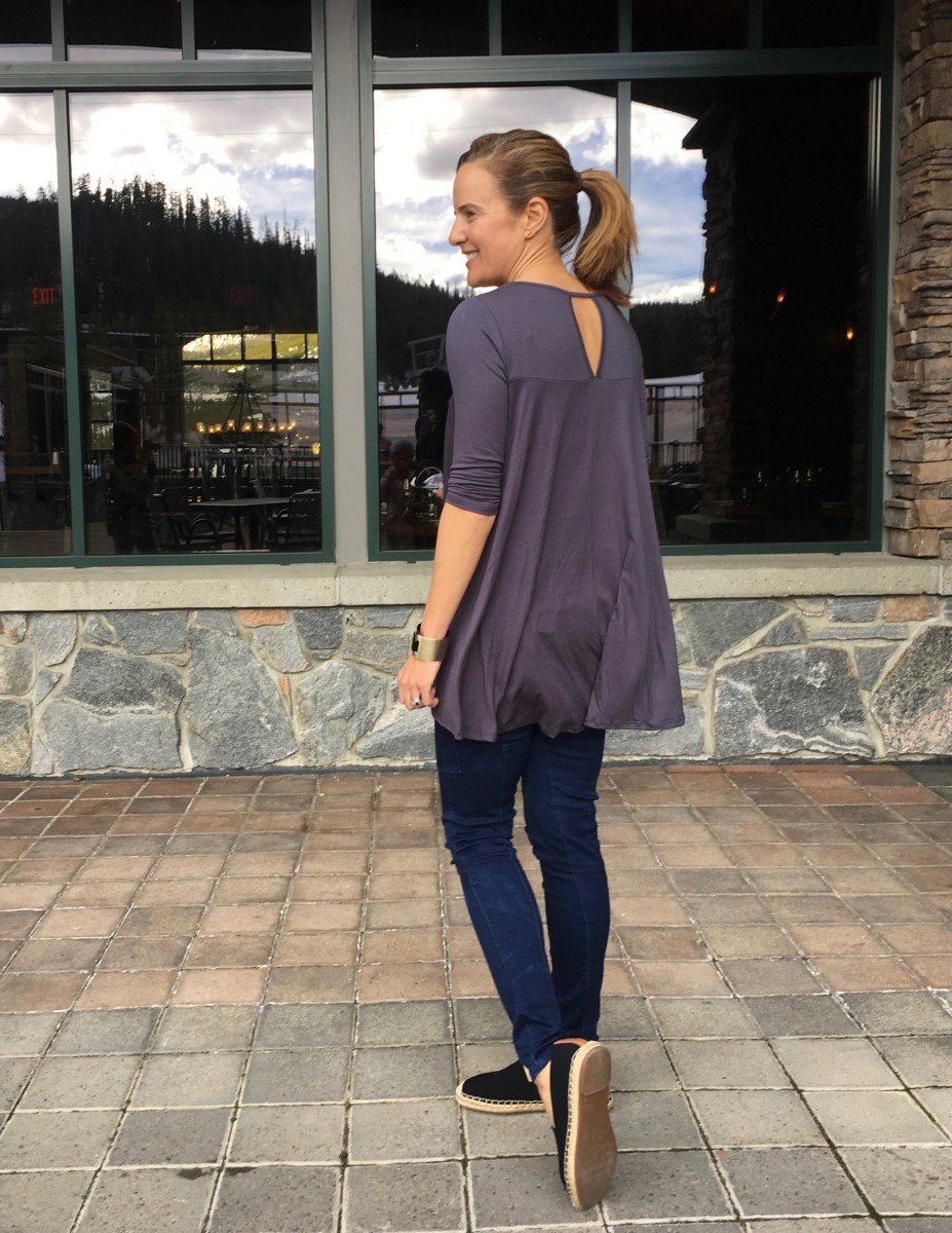 how to style a tunic