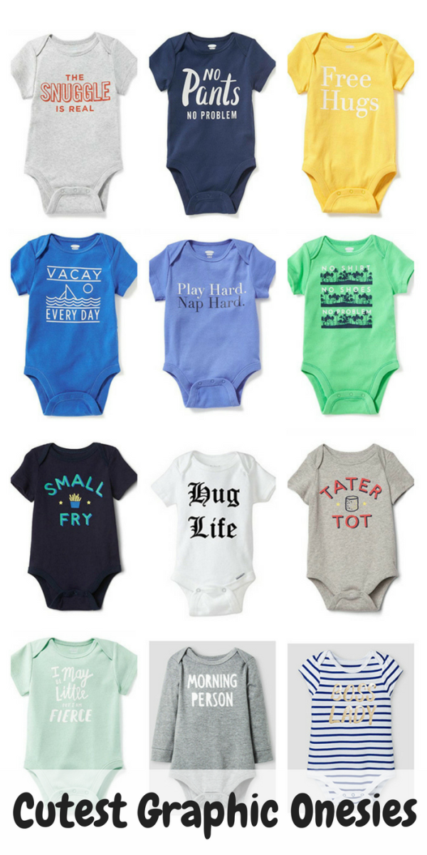 cutest graphic onesies